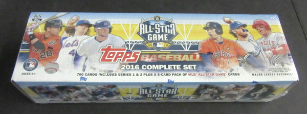 2016 Topps Baseball Factory Set All Star Game